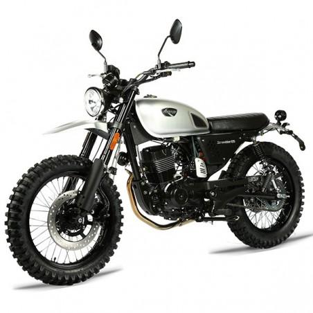 Moto Scrambler 125 Euro 4 MASAI MOTO